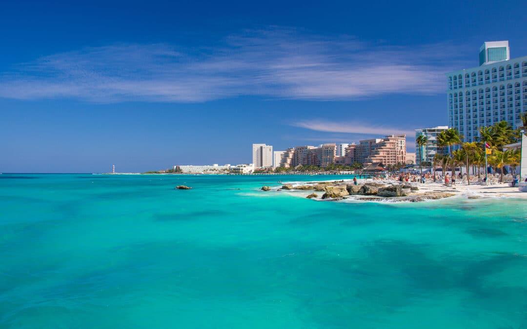 Playa Caracol Beach Panorama, in Cancun