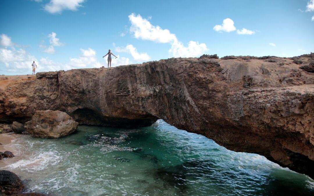 Picture of Baby Natural Bridge Landmark in Aruba by Primo Network Adventures